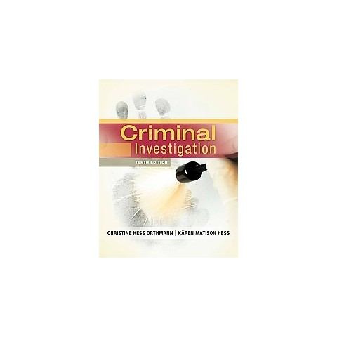 Criminal Investigation (Hardcover)