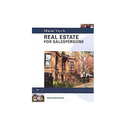 New York Real Estate for Salespersons (Paperback)