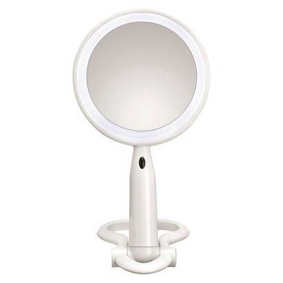 Conair Folding LED Mirror - White