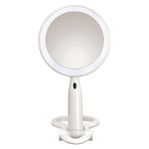 Conair Folding LED Mirror - White