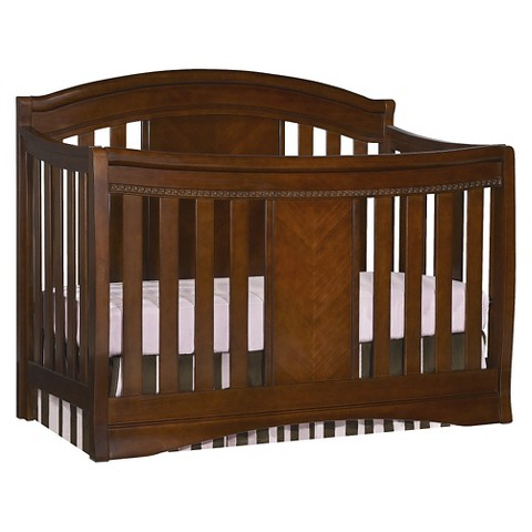 Simmons Kids SlumberTime Elite 4-in-1 Convertible Crib - Espresso Truffle