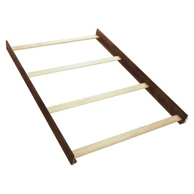 Slumber Time Elite by Simmons Kids Wood Bed Rails - Espresso Truffle