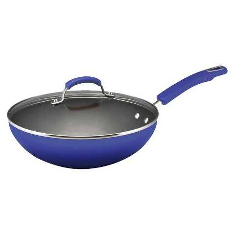 "Rachael Ray 11.25"" Ultimate Covered Stir Fry Pan -"