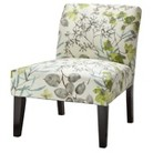 Avington Upholstered Slipper Chair - Gazebo Cloud Floral quick info