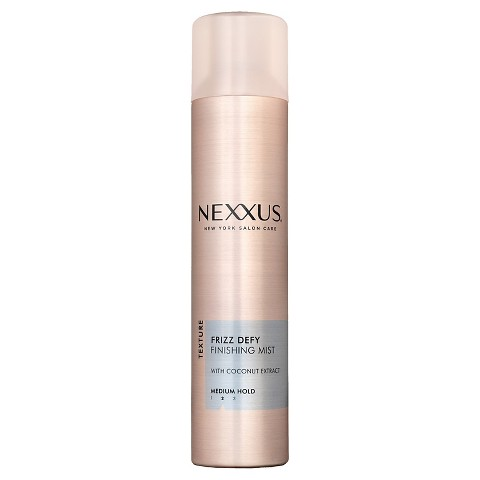 Nexxus New York Salon Care Frizz Defy Aerosol Hair Spray 10 oz