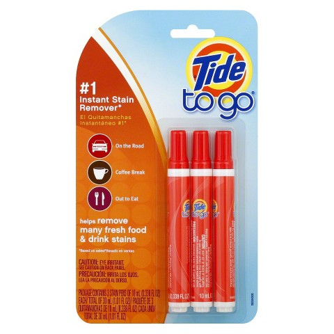Tide To Go Instant Stain Remover Pen 3 Count