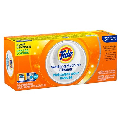 Tide Washing Machine Cleaner Pouches 3 ct