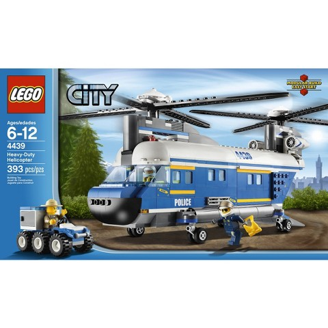 LEGO® City Heavy-Duty Helicopter 4439