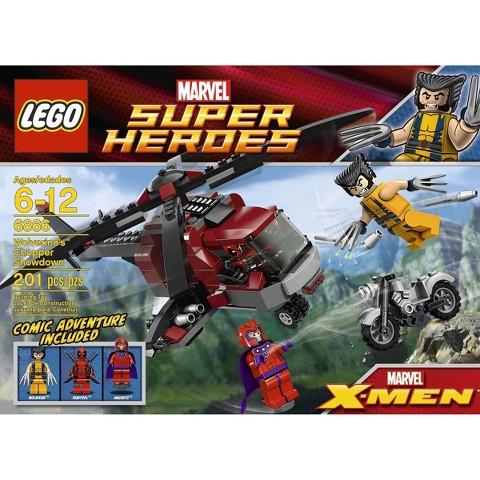 LEGO® Super Heroes Wolverine's Chopper Showdown 6866