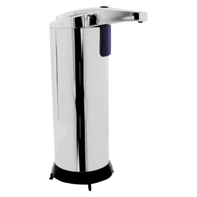 Ideaworks Touch-Free Soap Dispenser - Silver