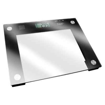 Ideaworks  Extra Wide Talking Scale - Clear