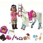 """I Think I Canter"" Bundle Includes  18"" Doll, Horse, & Riding Accessories - Our Generation™"