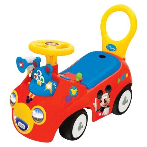 Disney Mickey Playtime Ride On - Red