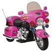 Kid Motorz Police Motorcycle 12V Ride On - Pink