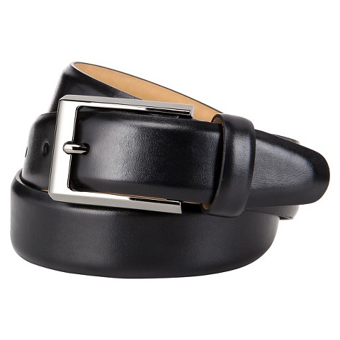 Men's Matte Split Belt - Black Merona™