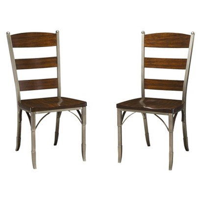 Dining Chair Set: Home Styles Bordeaux Dining Chairs - Birch (2 Pack)