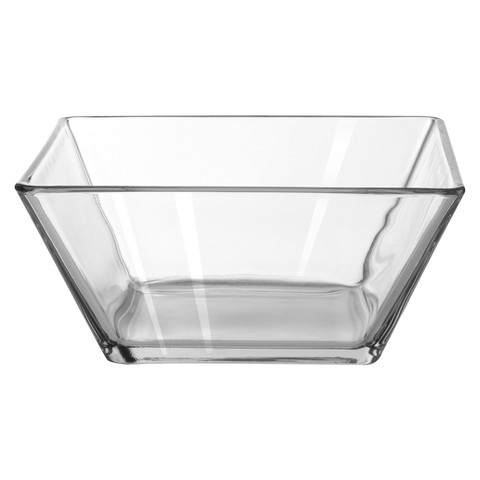 Anchor Hocking Square Glass Bowl - Large