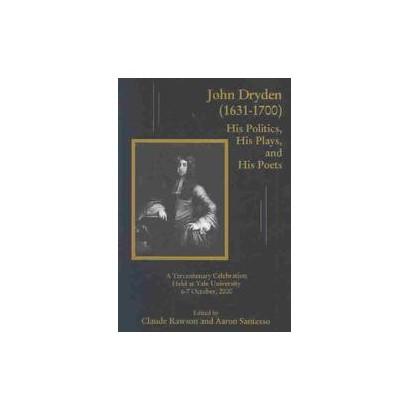 John Dryden, 1631-1700 (Hardcover)