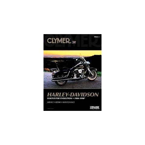 Clymer Harley Davidson Flh/flt/fxr Evolution 1984-1998 (Paperback)