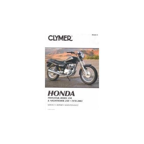Clymer Honda Twinstar, Rebel 250 & Nighthawk 250 (Paperback)