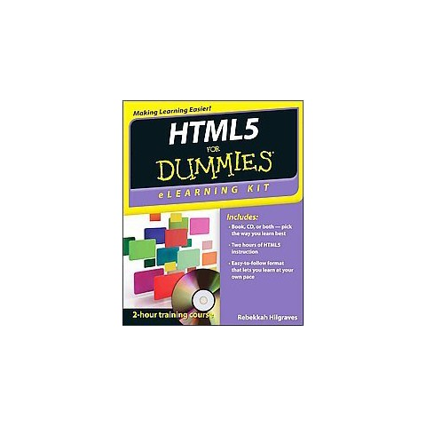 HTML5 for Dummies eLearning Kit (Mixed media product)
