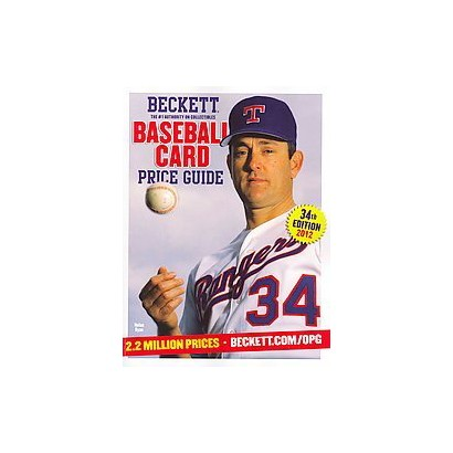 Beckett Baseball Card Price Guide 2012 (Paperback)