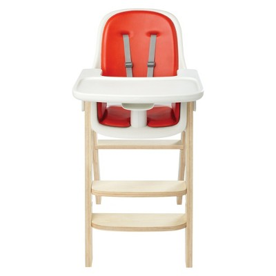 OXO Tot SproutTM High Chair - Orange/Birch