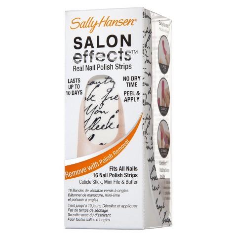 Sally Hansen Salon Effects Nail Patterns