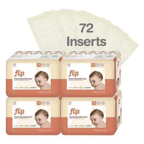 Flip Disposable Insert Packs - 4pk