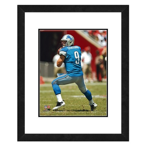 Detroit Lions Matt Stafford Framed Photo