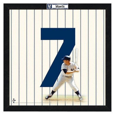 New York Yankees Mickey Mantle Framed Uniframe