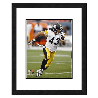 NFL Pittsburgh Steelers Troy Polamalu Framed Photo
