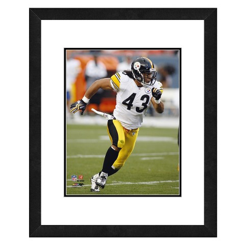 Pittsburgh Steelers Troy Polamalu Framed Photo