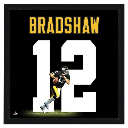 NFL Pittsburgh Steelers Terry bradshaw Framed Uniframe