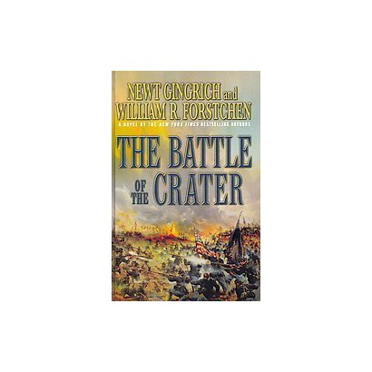 The Battle of the Crater (Large Print) (Hardcover)