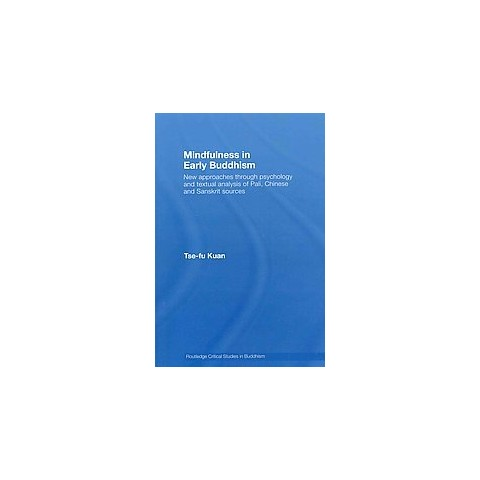 Mindfulness in Early Buddhism (Paperback)