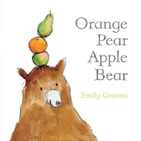 Orange Pear Apple Bear (Board)