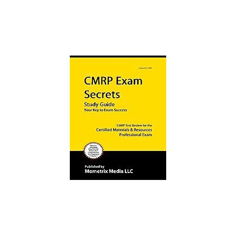 CMRP Exam Secrets (Study Guide) (Mixed media product)