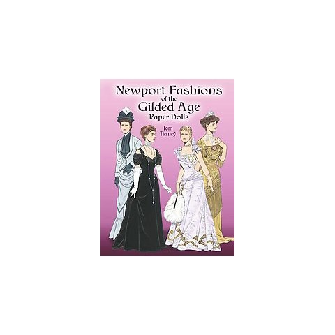 Newport Fashions of the Gilded Age Paper Dolls (Paperback)