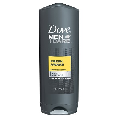 Dove Men+Care Fresh Awake Body Wash 18 oz
