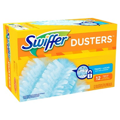 Swiffer Dusters Cleaner Refills Unscented 12 ct