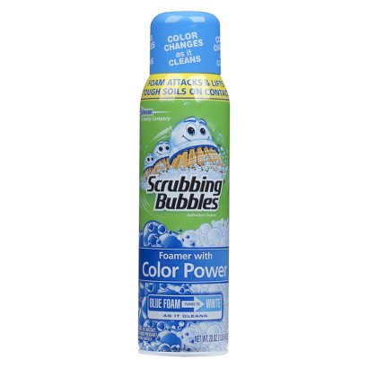 Scrubbing Bubbles® Bathroom Cleaner with Color Power Technology - 20 oz