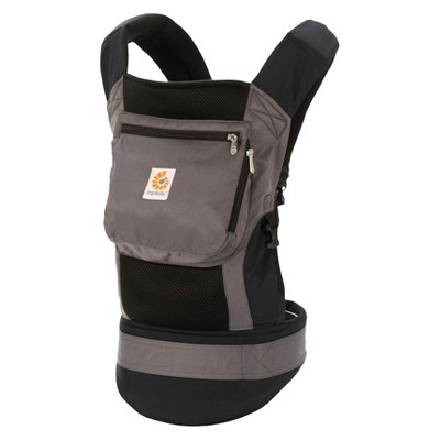 Ergobaby Performance 3 Position Baby Carrier - Charcoal Black