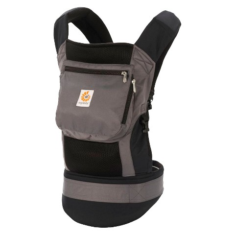 Ergobaby Performance Collection Baby Carrier - Charcoal Black