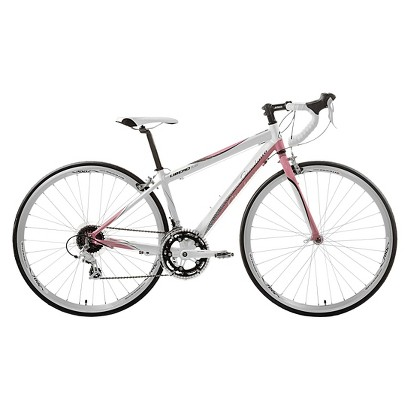 """Giordano Womens Libero 15"" Road Bike - White/Pink"""