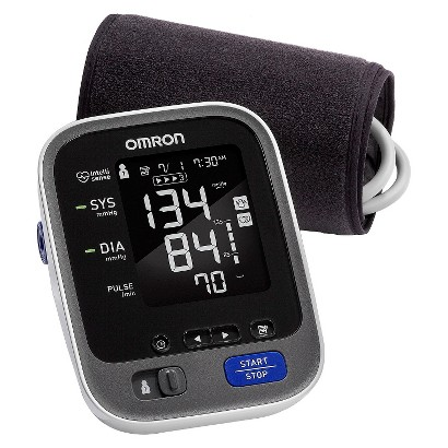 Omron 10 Series Upper Arm Blood Pressure Monitor with Cuff that fits Standard and Large Arms