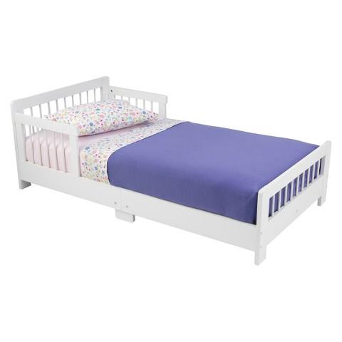 Kidkraft Slatted Toddler Bed - White
