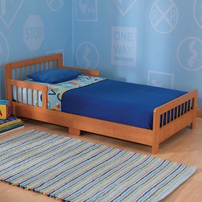 Kidkraft Slatted Toddler Bed - Honey