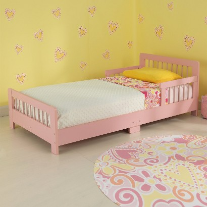 Kidkraft Slatted Toddler Bed - Pink