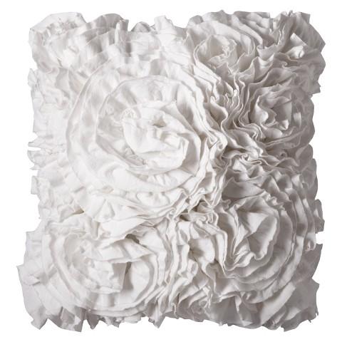 Xhilaration™ Jersey Ruffle Decorative Pillow
